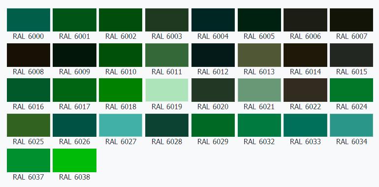 зеленый цвет фото оттенки